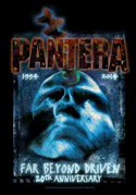 Pantera - Far Beyond - Fabric Music Poster